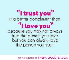 love trust forgive